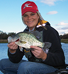 Angie Kokes - Crappie Fishing